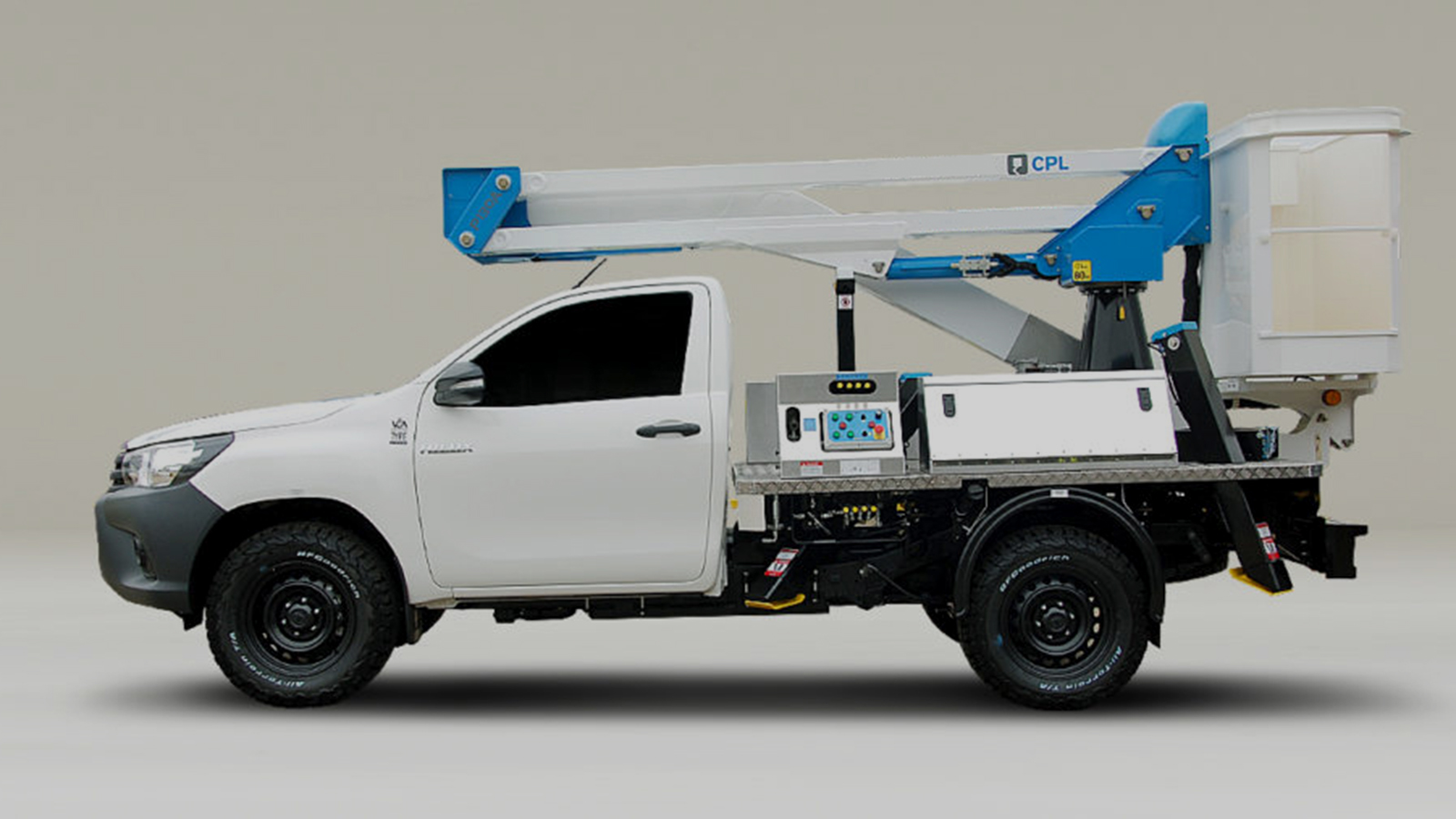 Hilux with bespoke conversion